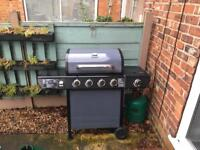 Uniflame 4 burner gas bbq with cover