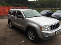 Grand Cherokee overland 3.0 crd automatic