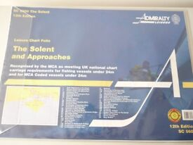 ADMIRALTY CHART THE SOLENT & APPROACHES