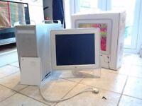 Apple Power Mac G5 spares repair + 17 inch Studio Display