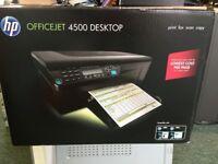HP OfficeJet 4500, Multifuntional Desktop - Prints, Fax, Scans & Copies. Brand New