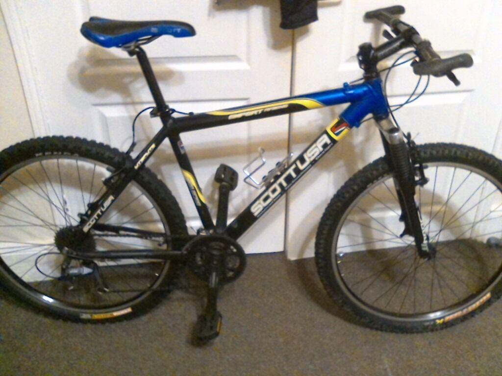 scott usa expert mountain bike in sunderland tyne and. Black Bedroom Furniture Sets. Home Design Ideas
