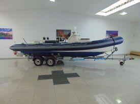 Ribtec 8.5m sports Rib Boat Speedboat