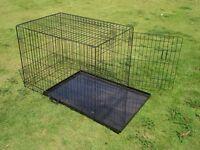 Metal Dog / Rabbit Crate 2 Doors