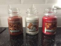 LargE yankee candles