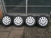 """15""""Inch Vauxhall Alloy wheels With Tyres"""