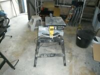 dewalt mitre and table saw
