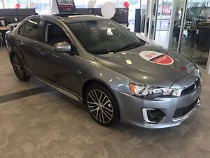 2016 Mitsubishi Lancer GTS Cuir, Toit ouvrant & auto.