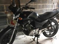 2005 Yamaha YBR 125cc Motorbike