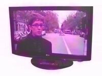 """LG 37"""" TV. Built in Free-view HDMI, SCART,"""