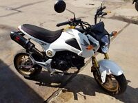 Honda MSX 125-E for sale. Good condition, cat C