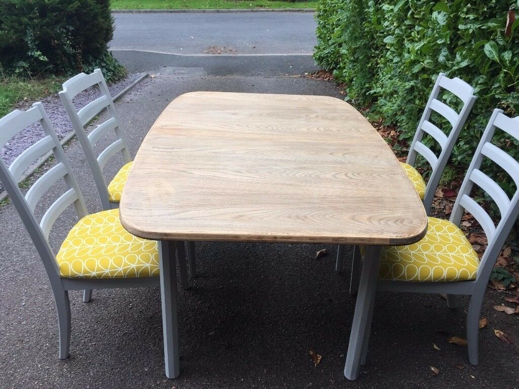 Modernised G Plan Dining Table & Chairs