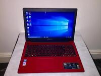 Asus HD 4GB Ram Fast Like New Slim Laptop Massive 750GB,Window10,Microsoft office,Ready to use