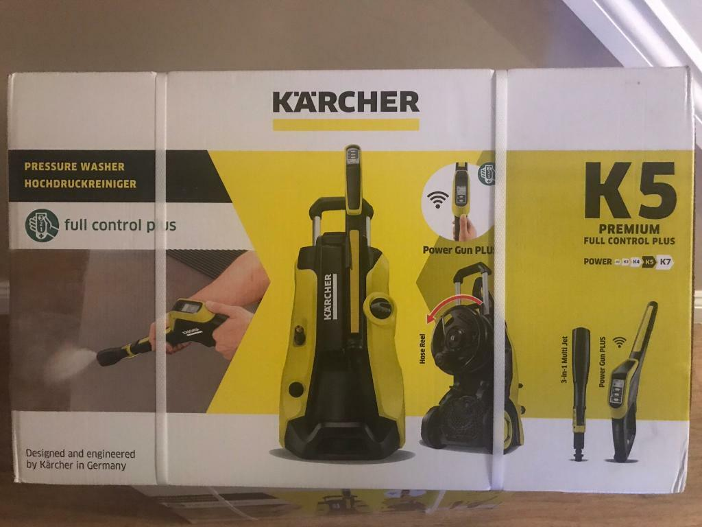 karcher k5 premium full control plus home pressure washer new boxed in kidsgrove. Black Bedroom Furniture Sets. Home Design Ideas