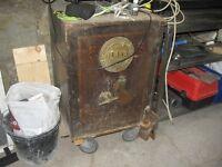 Antique Milner Safe.