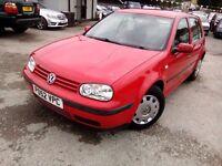 Volkswagen Golf 1.4 Petrol 2002 MOT Till March 2017