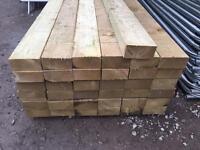 🛠£15 New Tanalised Wooden Railway Sleepers