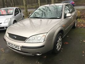 03 FORD MONDEO 1.8 ZETEC EXCELLENT CONDITION ONLY £499