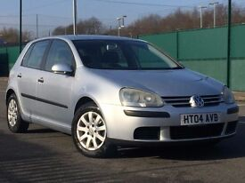 2004 (May 04) VOLKSWAGEN GOLF 1.6 SE FSi - 5 Door Hatch - Petrol - Manual - SILVER *12 MONTHS MOT*