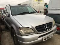 Mercedes Benz ml 270 diesel spare parts available