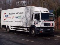 Free Trial Drive in a 18 Ton Class 2 HGV or a 44 Ton Class 1 Artic both Fully Automatic