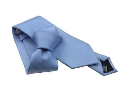Cravatta Azzurra in Seta da Cerimonia