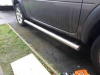 Land Rover Freelander 1 chrome side bars steps