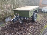 Narrow track Sankey trailer