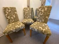 Oak Furniture Land Dining Chairs