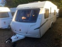 Abbey Vouge 620 Caravan Twin Axle, Motor Mover (2009) Like Hobby 650 Wfu Model. Tabbert And Fendt