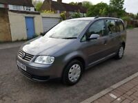 2005 Volkswagen Touran 1.6 FSI S 5dr 7 Seats Manual @07445775115 1 Owner+2Keys+7 Seater+Warranty+HPI
