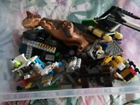 Random lego jurrassic set ect..