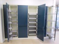Kitchen storage, ex-display: MACKINTOSH INTEGRAL PAINTED OXFORD BLUE