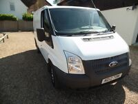 FORD TRANSIT 2012(12) SWB EURO 5 6 SPEED ONE OWNER FULL SEVICE HISTORY NO VAT