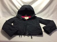 HOLLISTER NAVY JACKET LADIES SIZE SMALL VERY GOOD CONDITION
