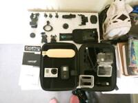 GoPro HERO3+ black edition with tons of extras