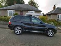 BMW X5 SPORT 3.0I LONG MOT ONLY 107 MILES!! 4X4 AUTOMATIC SERVICE HISTORY