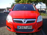 * Vauxhall Zafira 1.9 CDTi Elite 5dr+ TOP OF THE RANGE FULL L LEATHER+ 3 Months WARRANTY* BARGAIN*