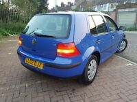 2002 Volkswagen Golf 1.6 SE 5dr Automatic 1.6L @07445775115@