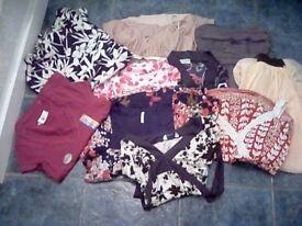Bundle of ladies size 10 mixed clothing 10 items
