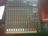 Soundcraft Spirit FX8 8 channel mixer w/ lexicon effects