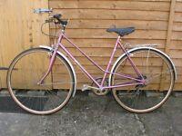 Ladies Bike Hybrid by Astra
