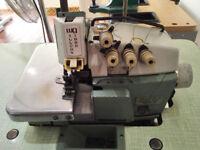 Willcox & Gibbs 500-4, 2-Needle Overlock, 5-Thread Industrial Sewing Machine