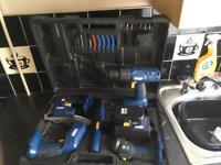 Drill set 18 volt