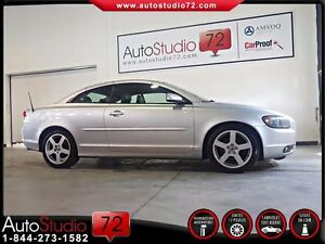 2007 Volvo C70 T5 AUTOMATIQUE **CONVERTIBLE**CUIR**