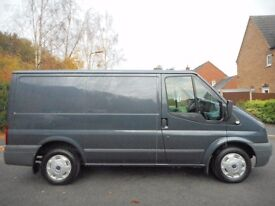FINANCE ME!! NO VAT!! Ford Transit 110 Bhp t260 Trend finished in Gun Metal Grey,Fully ply lined!!