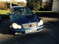 Mercedes c220 cdi coupe 2002 CHEAP!!!