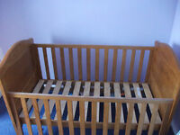 Winnie The Pooh Cot Bed plus Draw