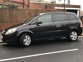 DL60GEU Vauxhall Zafira 1.8 i VVT 16v Exclusiv 5dr