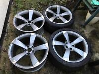 "19"" genuine Audi rotor wheels 5x112"